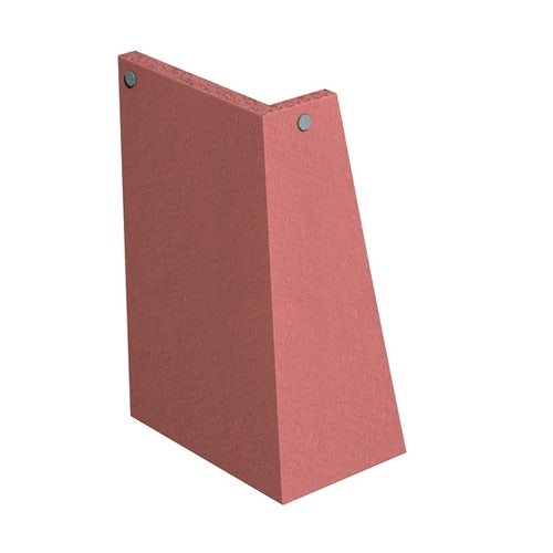 Marley Clay Tile 90dg External Angle Left Hand - Red Smooth