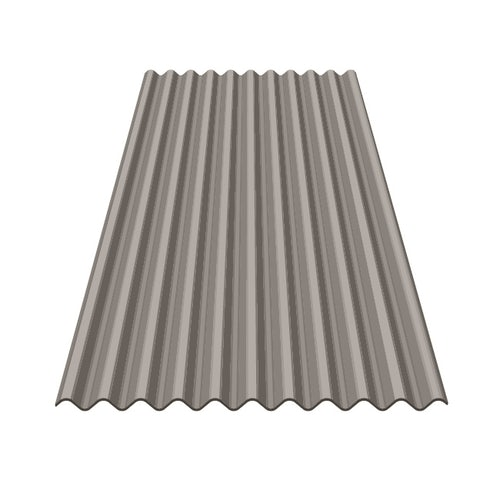 Marley Eternit Profile 3'' Fibre Cement Sheet Natural Grey - 1525mm