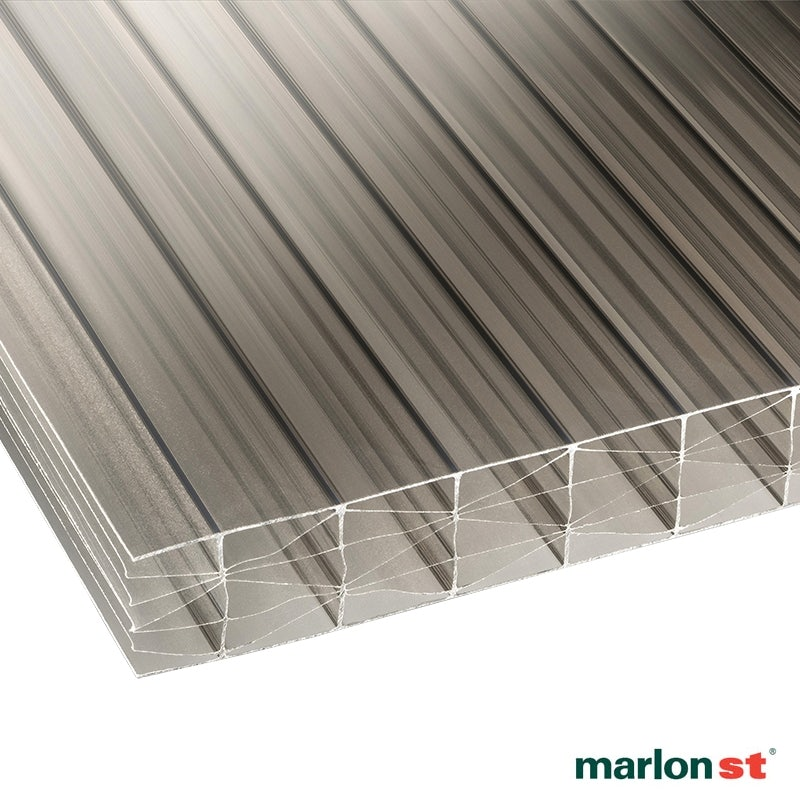 Video of Marlon 25mm Bronze Sevenwall Polycarbonate Sheet - 3000mm x 800mm