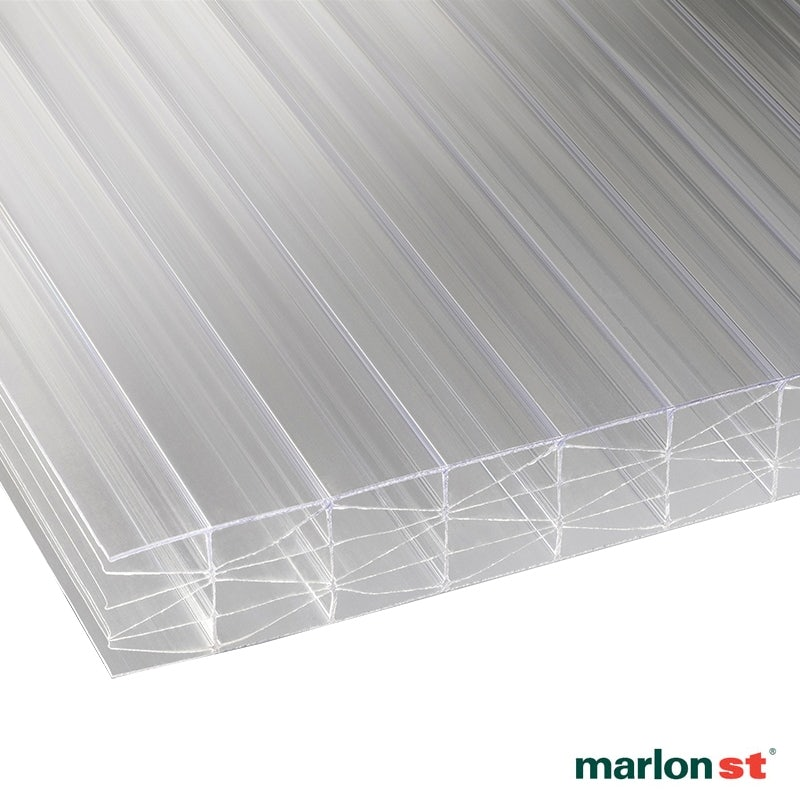 Video of Marlon 25mm Clear Sevenwall Polycarbonate Sheet - 4000mm x 1600mm