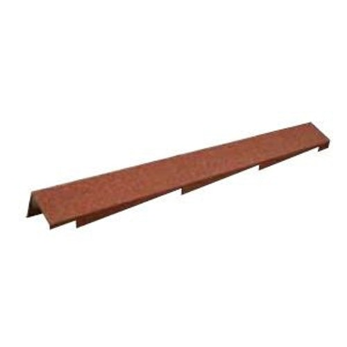 Metrotile Right Handed 3 Course Barge Cover - Terracotta