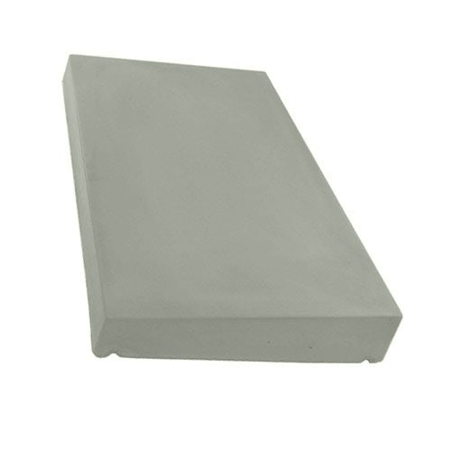 Eurodec 50-75mm Once Weathered Coping Stone 600mm x 375mm - Grey