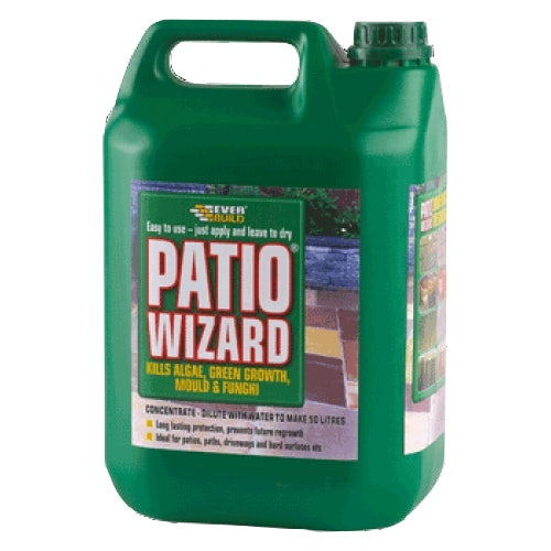 Everbuild Patio Wizard Moss Away Concentrate - 5 Litres