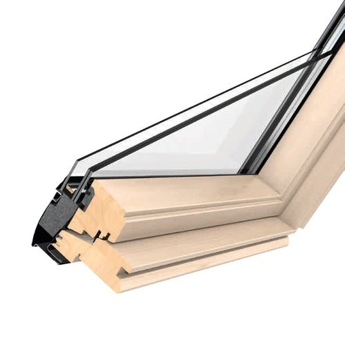 VELUX GGL UK04 3070 Pine Centre Pivot Window Laminated - 134cm x 98cm