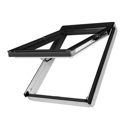 Fakro PPP-V P2/16 uPVC Dual Top Hung Window Laminated - 55cm x 118cm