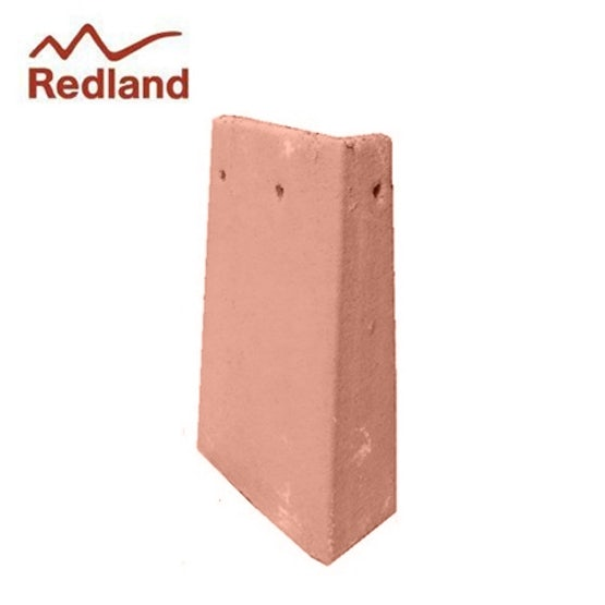 Redland Rosemary Clay External Angle 90 Degree Left Hand - Smooth Red
