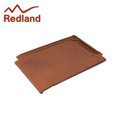 Redland Westminster RH Half Slate Clay Roof Tile - Old College Red