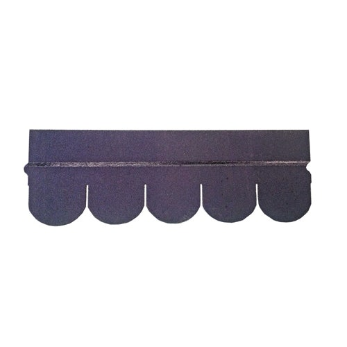 Roofing Superstore Scalloped Roofing Felt Shingles in Black - 3m2 Pack