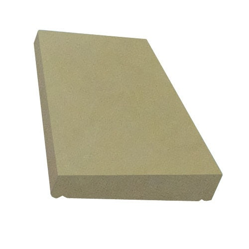 Eurodec 50-75mm Once Weathered Coping Stone 600mm x 375mm - Sand