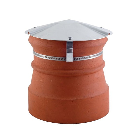 Special Rain Cap Stainless Steel for 500mm Diameter x 180mm Upstand