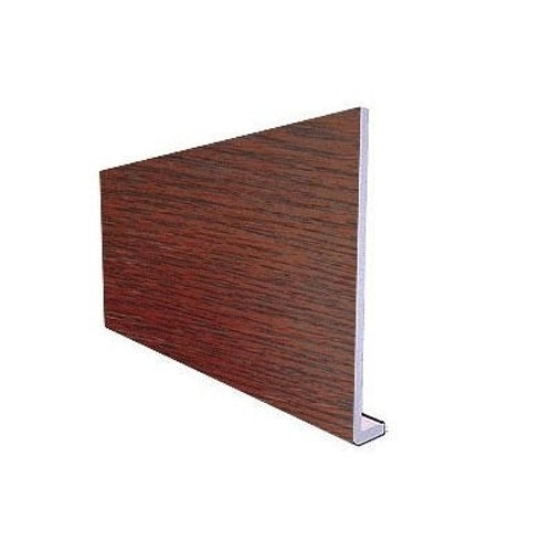 uPVC 225mm Fascia Board (10mm Cappit Square Edged) 5m - Rosewood