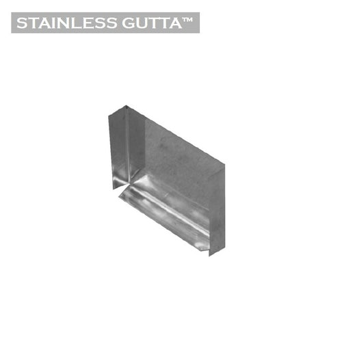 Stainless Gutta Stop End - Standard Box