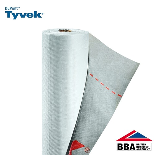 Tyvek Supro Breather Membrane Felt Underlay by DuPont - 50m x 1m Roll
