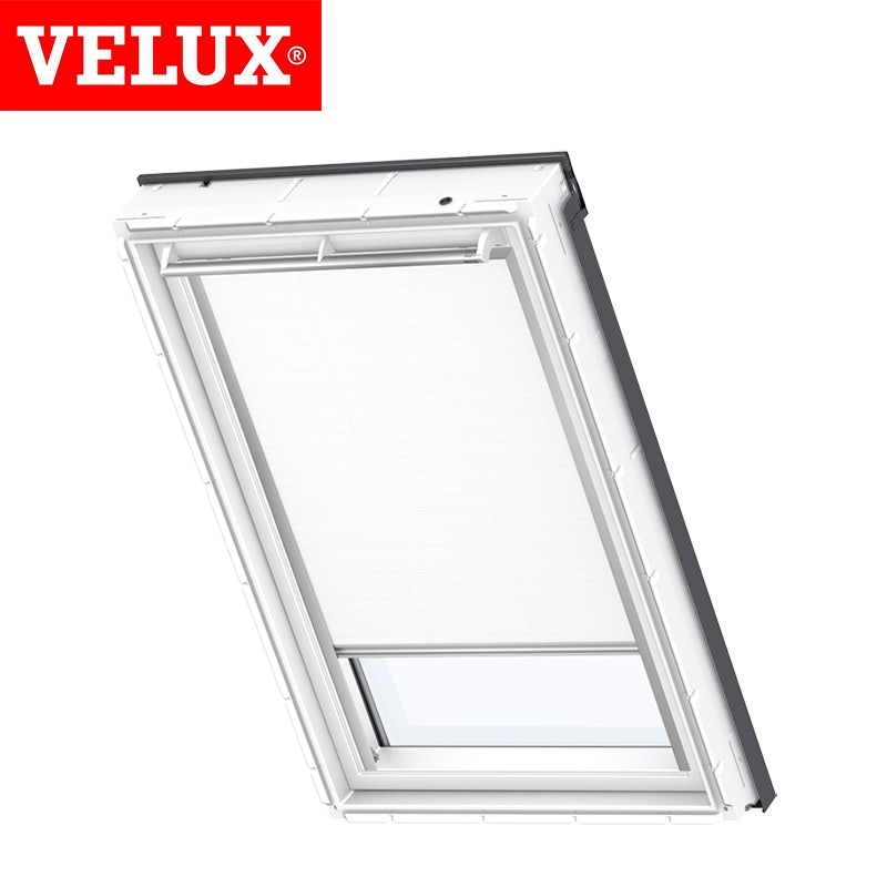 Video of VELUX Manual Blackout Blind DKL MK06 1025S - White