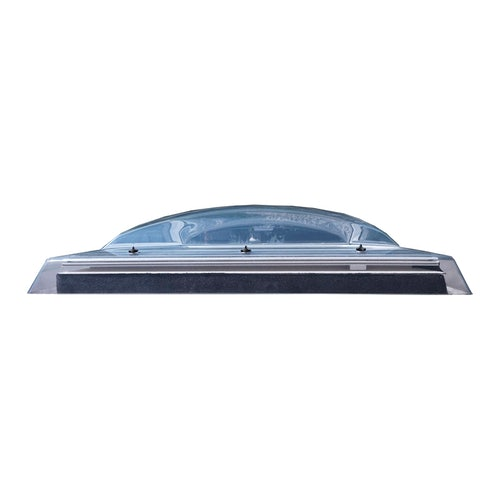 VELUX Flat Roof Polycarbonate Dome Only in Clear - 800mm x 800mm
