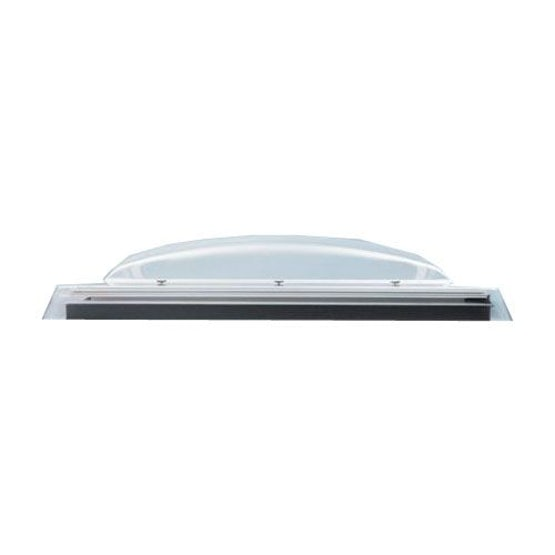 VELUX Flat Roof Polycarbonate Dome Only in Opaque - 600mm x 600mm