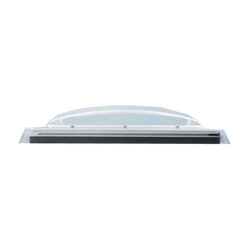 VELUX Flat Roof Polycarbonate Dome Only in Opaque - 800mm x 800mm
