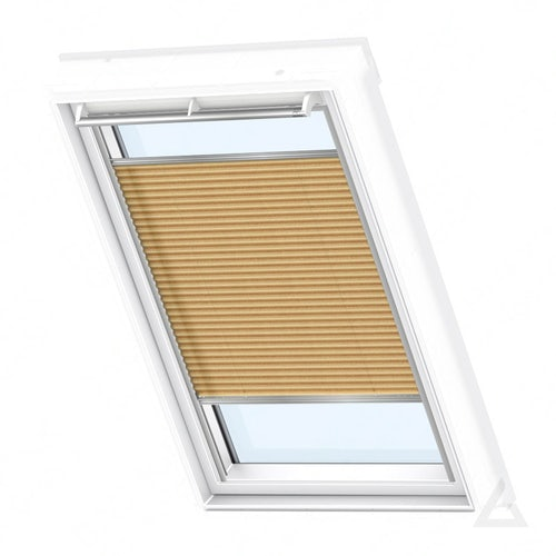 velux-pleated-blind-fhl-shiny-cappuccino