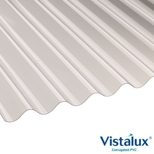 """5 packs of 10 2/"""" fixings for pvc corrugated roofing sheets 3/"""" profile"""