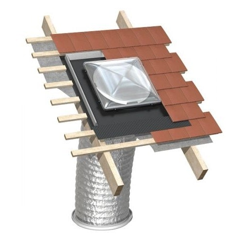 Whitesales Em Tube - 550mm Pitched Slate Roof Kit 3M Flexi Tube
