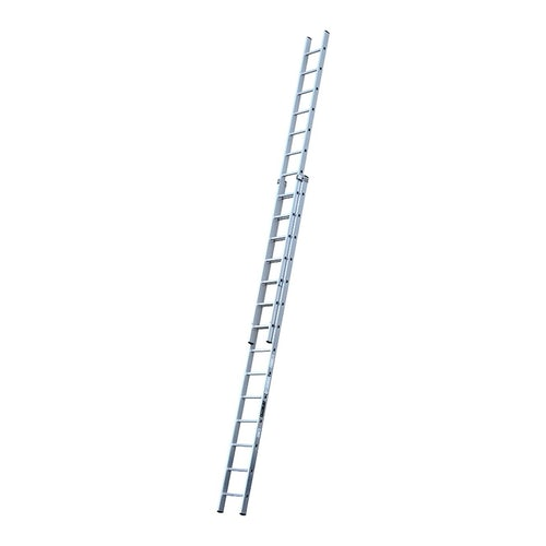 Youngman Trade 200 2-Section Push Up Extension Ladder - 4.24m to 7.43m