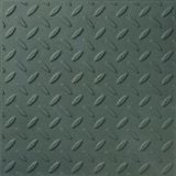 Green GRC Checkerplate Promenade Tile (297mm x 297mm x 12mm)