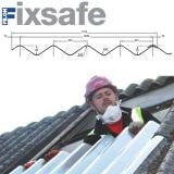 Fixsafe Doublesix M Industrial Roofing Sheet Pack Translucent - 1525mm