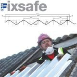 Fixsafe Doublesix M Industrial Roofing Sheet Pack Translucent - 1830mm