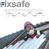 Fixsafe Major Tile Industrial Roofing Sheet Pack Translucent - 1525mm