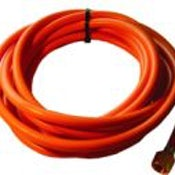 Propane Hose - 8mm Orange (10m Length) - Including Crimps