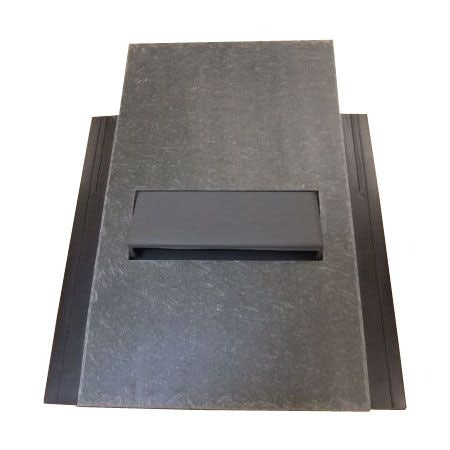 Natural Top Bat Vent - Natural Slate - 500mm x 250mm