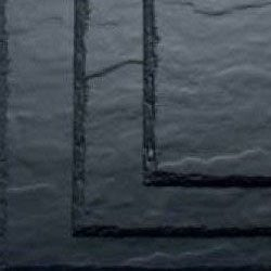 SVK  600mm x 300mm Montana Textured Fibre Cement Slate - Blue/Black