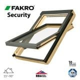 Fakro FTP - V P2/05 Secure Roof Window Pine Centre Pivot - 78cm x 98cm