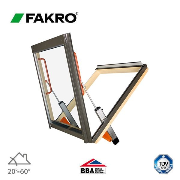 Fakro FSP/10 Bottom Opening Smoke Ventilation Window - 114cm x 118cm