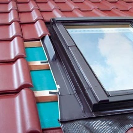 FAKRO EUV/B/07 L-Shaped Combination Flashing For Tiled Roofs - 78cm x 140cm