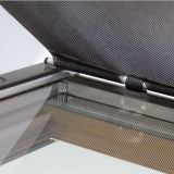 Awning Blind For RoofLITE & Dakstra Roof Windows in Black - 55cm x 98cm