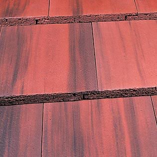 Marley Duo Modern Roof Tile - Old English Dark Red