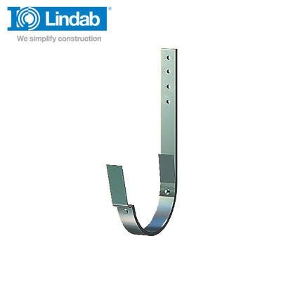Lindab Half Round Rafter Bracket 337mm x 190mm Painted Dark Grey