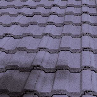 Marley Ecologic Ludlow Major Roof Tile - Nimbus Grey