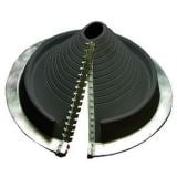 Pipe Flashing for Metal Roofs 20-70mm Dektite Retrofit Black EPDM