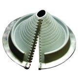 Pipe Flashing for Metal Roofs 85-255mm Dektite Retrofit Grey EPDM