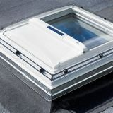 VELUX Solar Heat Reduction Awning Blind MSG 900mm x 900mm 6090 White
