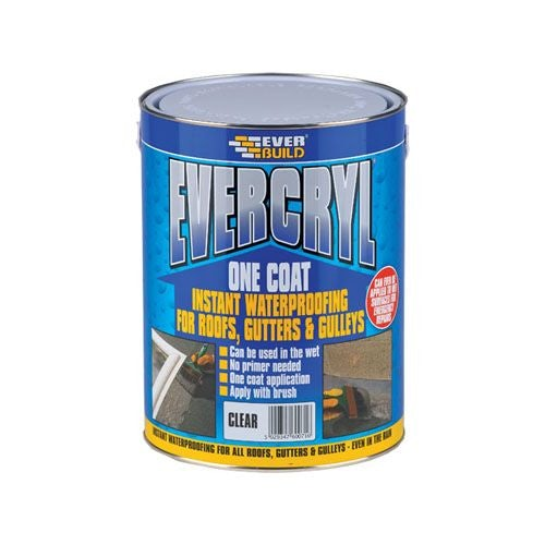 Everbuild Evercryl One Coat - 5kg Translucent