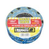 Mammoth Mega All Purpose Duct Tape 50mm x 50m - White (Box of 24)