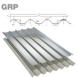 GRP Major Tile Grey Roof Sheet (Class 3 - 2.4kg/m2) - 3050mm