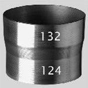 Ubbink Reducer 132mm - 124mm (for Pipe Connections)