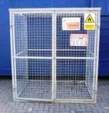 Gas Bottle / Cylinder Storage Cage - H2000mm x W2000mm x D2000mm