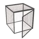 Gas Bottle / Cylinder Storage Cage - H1800mm x W2400mm x D1800mm
