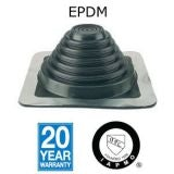Aztec Master Flash Standard EPDM Pipe Flashing Black - 101mm to 209mm
