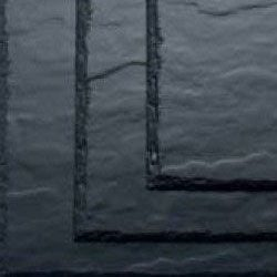 SVK 400mm x 240mm Montana Textured Fibre Cement Slate - Blue/Black